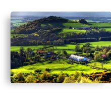 Gribdale Terrace, North Yorkshire Canvas Print