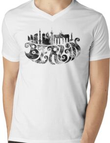 Berlin Mens V-Neck T-Shirt