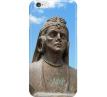 Statue of a Warrior iPhone Case/Skin