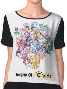 League Of Cats <3 Chiffon Top