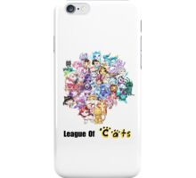 League Of Cats <3 iPhone Case/Skin