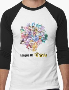 League Of Cats <3 Men's Baseball ¾ T-Shirt