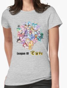 League Of Cats <3 Womens Fitted T-Shirt