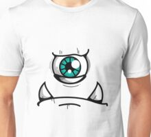 Blue Eyed Angry Monster Unisex T-Shirt