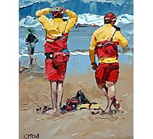 Two Lifeguards Photographic Print