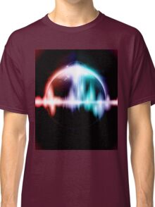 Retro space background Classic T-Shirt