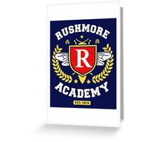 Rushmore Academy T-Shirt Greeting Card