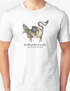 The Winged Cow From Hell Unisex T-Shirt