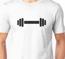 Barbell dumbbell Unisex T-Shirt