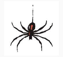 Artistic black widow spider ipad case by artisticattitud