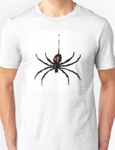 Artistic black widow spider ipad case T-Shirt