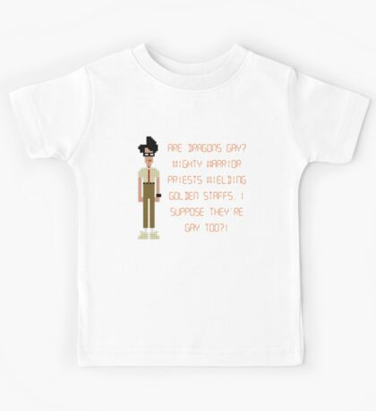 The IT Crowd – Are Dragons Gay? Kids Tee