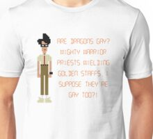 The IT Crowd – Are Dragons Gay? Unisex T-Shirt