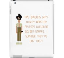 The IT Crowd – Are Dragons Gay? iPad Case/Skin