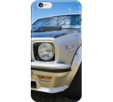 Silver Holden Torana LX SLR5000 iPhone Case/Skin