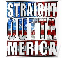 Straight Outta Merica Poster