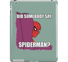 60's Spiderman #2 iPad Case/Skin