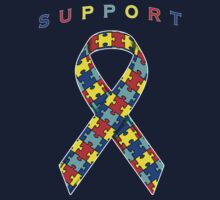 Autism Awareness Ribbon by adamcampen