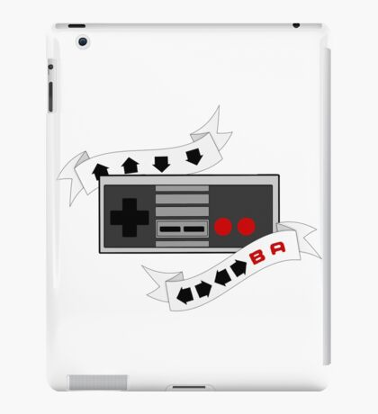 Unlimited Everything! Retro Controller Cheat Code iPad Case/Skin