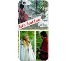 Swan Queen - let's beat fate iPhone Case/Skin