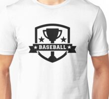 Baseball trophy champion Unisex T-Shirt