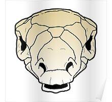 Ankylosaur skull Poster