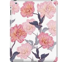 Pattern with tulips iPad Case/Skin
