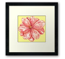 mmm_flower Framed Print