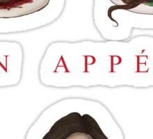 Bon Appétit Sticker