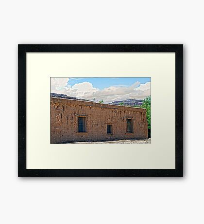 Abandoned Decay Framed Print