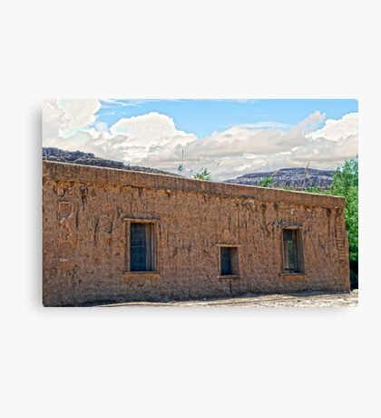 Abandoned Decay Canvas Print