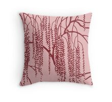 Willow F Throw Pillow