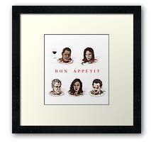 Bon Appétit Framed Print