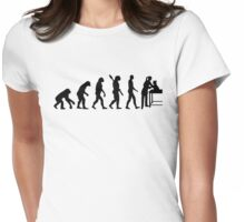 Evolution female veterinarian Womens Fitted T-Shirt