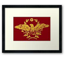 Karia - Roma Flag Framed Print