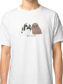 Hop Along Bunny and Bailey Classic T-Shirt