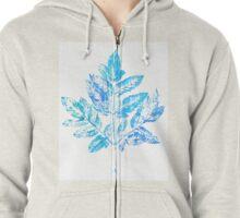 foliage Zipped Hoodie