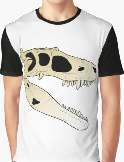 Gorgosaurus skull Graphic T-Shirt