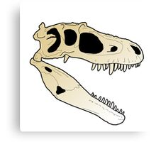 Gorgosaurus skull Canvas Print
