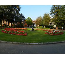 Flower Display At Tonbridge Castle Photographic Print