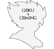 Goku Is Coming Photographic Print