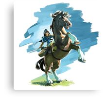 Link from Zelda Wii U Canvas Print