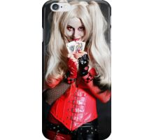 Harley Quinn Cards iPhone Case/Skin