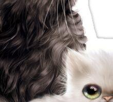 Cute Kittens Sticker