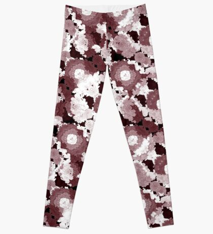 Ornate Modern Floral Leggings