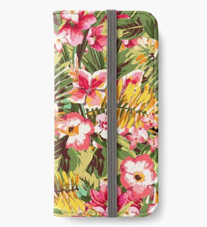 Tropical Climate #home #decor #clocks iPhone Wallet/Case/Skin