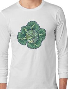 dreaming cabbages Long Sleeve T-Shirt
