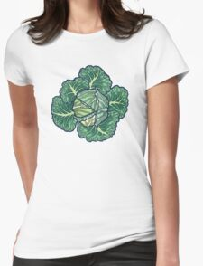 dreaming cabbages Womens Fitted T-Shirt