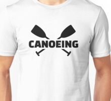 Canoeing crossed paddles Unisex T-Shirt