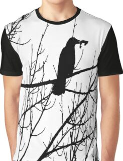 Black bird Graphic T-Shirt